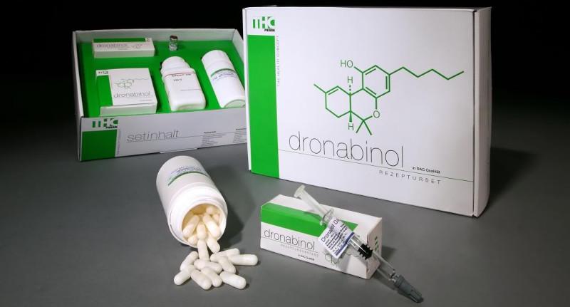 Dronabinol und Marinol Medikamenten Set