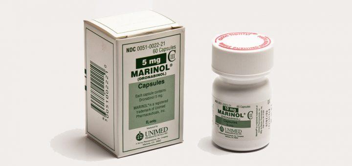 THC Pille Marinol (Dronabinol) Medikament