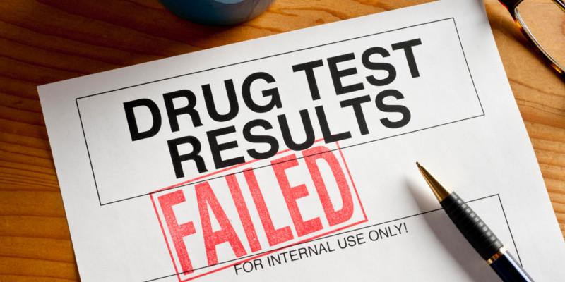Drogentest nicht bestanden Bescheinigung