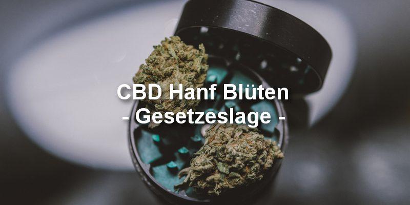 CBD Cannabis Blüten Gesetzeslage