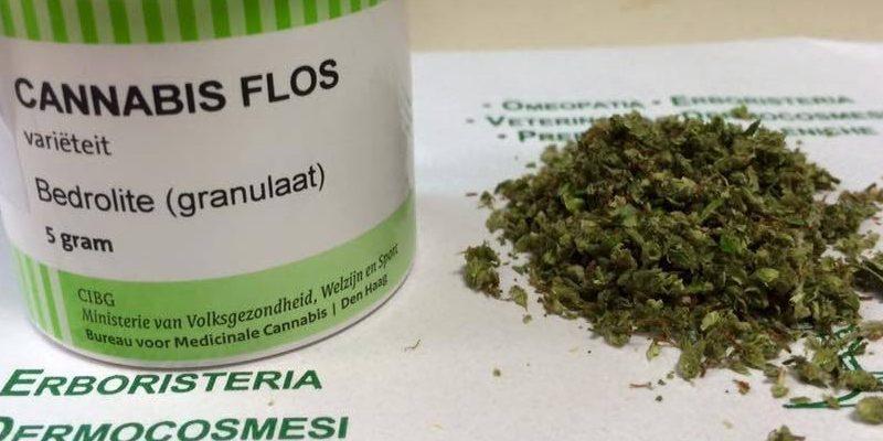 Bedrolite Cannabis Granuliert
