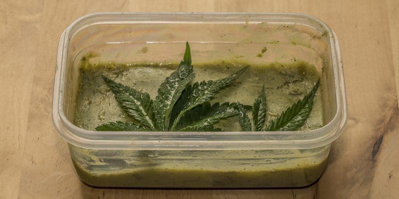 Cannabis Butter selbstgemacht