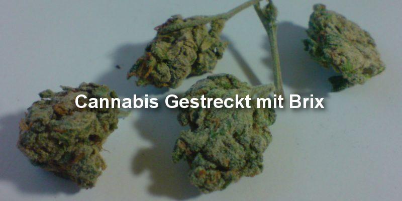 Brix auf Cannabis