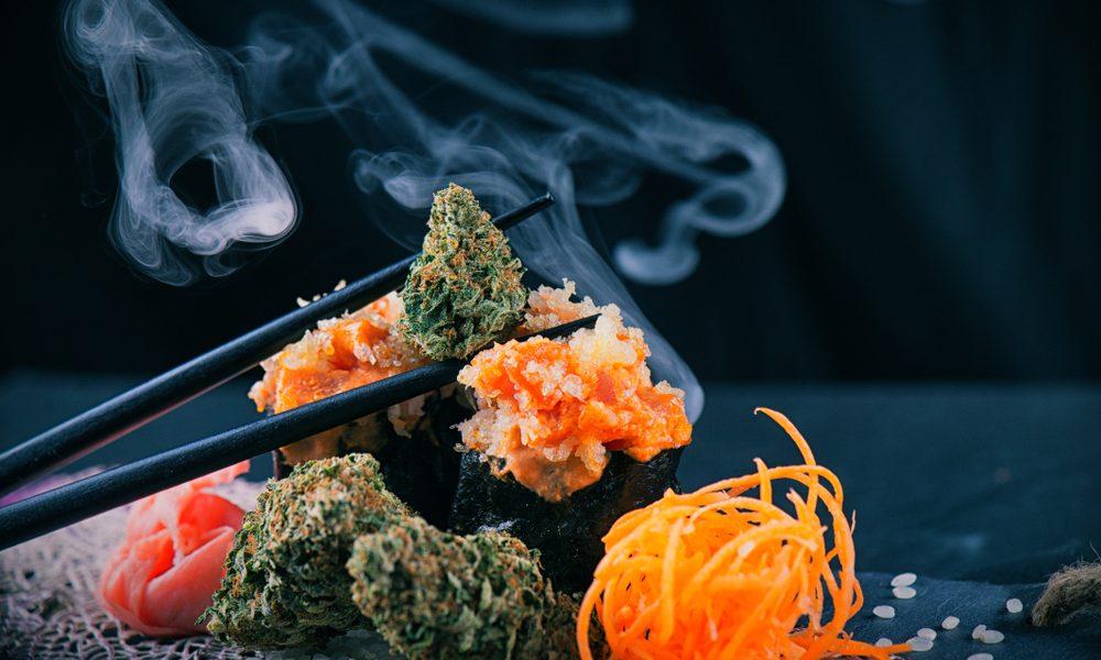 Cannabis Sushi