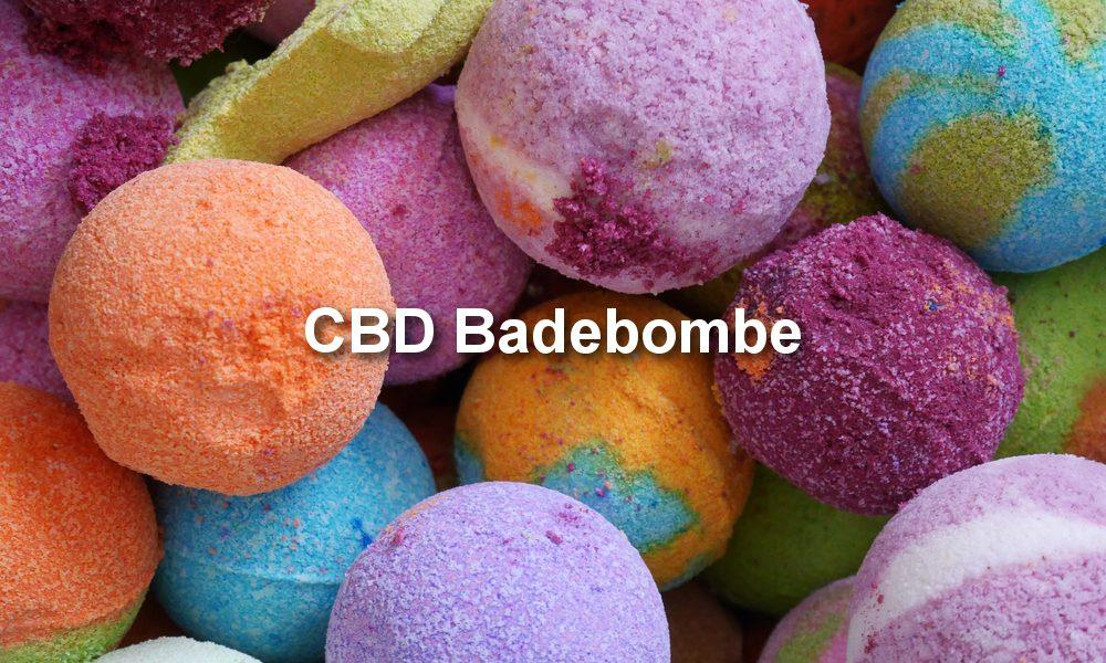 CBD Badekugel rezept