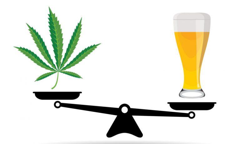 Cannabis VS Alkohol Studie: 114 Mal Tödlicher Als Cannabis