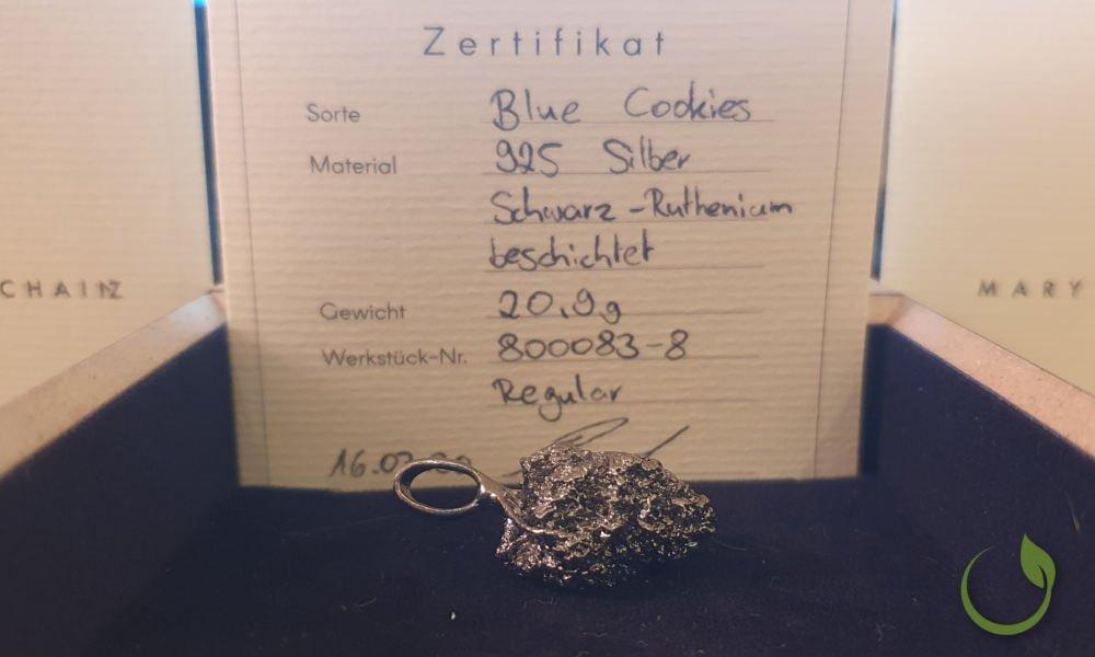 Blue Cookies Schwarz-Ruthenium