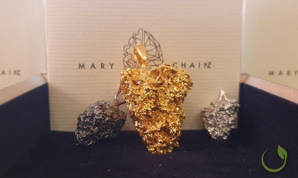 Mary Chainz Cannabisblüten Schmuck